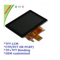 """Buy cheap 5"""" Touch screen panel and LCM and optical bonding for Industrial control device product"""