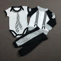 Buy cheap Black 0 - 9M Cool Baby Boy Clothes Casual Style Knitted Type OEM Service product