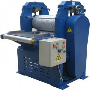 Buy cheap 11.0KW Aluminum Embossing Machine / Metal Embossed Machine Coated Aluminum Sheet product