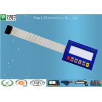 Buy cheap Custom Membrane Switch Panel For Electronic Scales With 3M9448A Back Adhesive product
