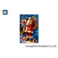 Buy cheap Customized PET 3D Printed Christmas Card / Lenticular Card Printing product