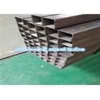Quality ASTM A500 Gr C Carbon MS Hollow Section Steel Tube Seamless Plain End Protector for sale
