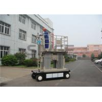 Buy cheap 8 Meter Self Propelled Scissor Working Platform With 800mm Extension Platform product