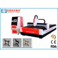 China 1KW CNC Fiber Laser Cutting Machine with IPG Coherent  Raycus Fiber Laser Source on sale