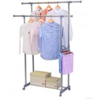 Buy cheap Grey Foldable Cloth Drying Stand , Polypropylene Plastic Compact Clothes Drying Rack product