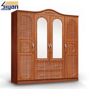 Buy cheap Indoor Custom Made Louvered Closet Doors , Shutter Wardrobe Doors 4 Drawers Front product