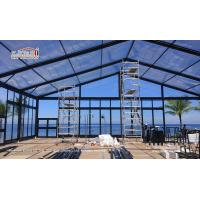 Buy cheap Elegant Black marquee Clear Roof Marquee for Event Party Hire from Liri Tent from wholesalers