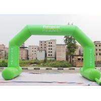 Buy cheap Green Custom Inflatable Arch Stitch Fasten Tape UV / Digital Printing product