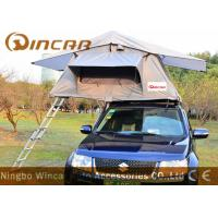 Buy cheap Waterpoof Overland Car Roof Top Tent For Camping , Popular Car Top Camper Roof Tent product