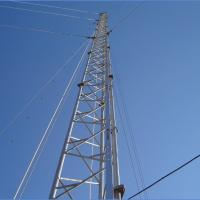 China Triangle Self Supporting Antenna Tower Signal Transmission Guyed Wire Tower on sale