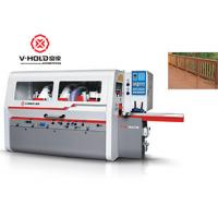 Buy cheap High Efficiency 4 Sided Planer Moulder Heavy Duty Woodworking Machiene Power Saving product