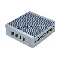 Buy cheap 2 RJ45 Fanless Industrial Pc , Dual Core CPU J1900 Embedded PC product