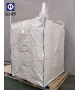 Buy cheap Chemical Jumbo Bulk Bags 1 Ton Container Big Bag Top Spout 40 X 50cm White Color product