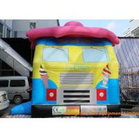 Buy cheap Ice Cream Truck Inflatable Bouncy Castle Commercial Truck  Bouncer from wholesalers