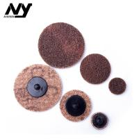 Buy cheap 2 Inch Quick Change Abrasive Discs Metal Polishing TS TR Type Support  Flax Nylon product