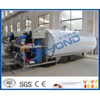 Buy cheap Milk Cooling Stainless Steel Tanks for Cooling / Storage Fresh Milk Customized Size product
