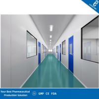 Industrial Pharmaceutical Modular Clean Room , GMP Certified Class 100 Clean Room