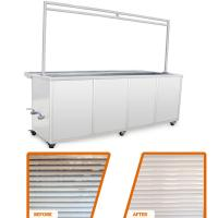 Buy cheap 10 Ft Ultrasonic Blind Cleaning Equipment Wash And Rinse Heated Ultrasonic Tank product