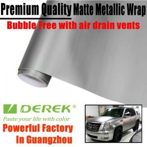 Buy cheap Matte Metallic Car Wrapping Films - Matte Metallic Silver product