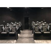 Buy cheap Real Leather Interactive Mobile 5D Cinema Chair 3 Degrees Of Freedom / 5D Cinema System product