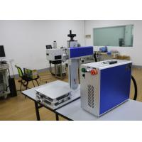 Buy cheap EZCAD Software Fiber Laser Marking Machine 50W Laser Power For Integrate Circuits product
