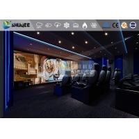 Buy cheap 18 Persons 5D Movie Theater With Special Effect System 3DOF Pneumatic Motion Chairs product