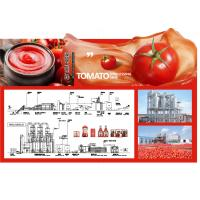 SS304 Small Scale Ketchup Tomato Paste Production Line Customized Size Easy Operation for sale