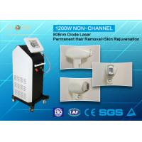 Buy cheap Full Body 810nm Diode Laser Hair Removal Machine Non - Channel With CE Approved product