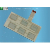 Buy cheap 1mm Pitch Flexible Capacitive Touch Circuit With LuxKing Back adhesive product
