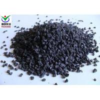 Buy cheap Strong Cutting Power Black Aluminum Oxide For Metal Surface Cleaning Abrasives Media product