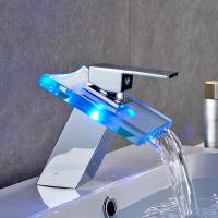 Buy cheap Single Multi - Function Bathroom Basin Faucets Chrome Plated For Body Wash product