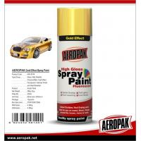 Quality Aeropak fast dry high glossy Chrome Effect Spray Paint, bright chrome color, for sale