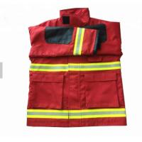 Buy cheap High Visibility Lightweight Flame Retardant Clothing 100% Cotton Anti Static product