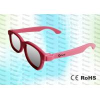 Buy cheap ABS Plastic Cinema Use Circular polarized 3D glasses CP297GTS01RealD and Master Image  product