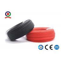 Buy cheap Photovoltaic DC Solar Cable XLPE Material 200m Per Roll For Solar Plant product