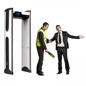 Quality Waterpoof archway metal detector door / prison metal detectors at school for sale