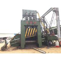 Buy cheap Simple Control Hydraulic  Metal Shear for Scrap Boards 10 - 15 Tons / Q91 - 500 product