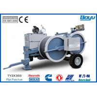 Buy cheap 8 Tons 2 x 40kN Tension Stringing Equipment With Hydraulic Meter German Wika from wholesalers