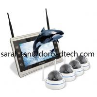 Buy cheap 4CH 1080P WIFI IP Dome Cameras NVR Kit WiFi Camera with HD LCD Screen Display NVR product