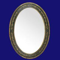 China 4042 Wholesale Oval Decorative Wall Mirror Frames on sale