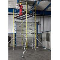 Buy cheap Lightweight Professional Aluminium Mobile Scaffold Flexibility Versatility For Inspecting Roof product