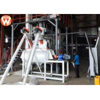 Buy cheap 1.5 - 2.5 T/H Animal Farm Poultry Feed Plant Machinery 50kw High Efficiency product