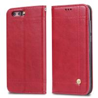 Buy cheap Book Cover Huawei Leather Case For Honor 9 Magnetic Adsorption Wallet Flip Stand product