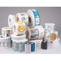 Buy cheap Gloss Lamination Security Sticker Labels , Adhesive Printable Tamper Proof Labels product