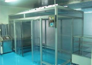 Buy cheap Portable Clean Room Booth Station/ Softwall Clean Room Free Design Drawing product