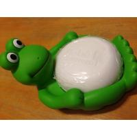Buy cheap Animal Design Bathroom Plastic Soap Dish , Duck / Frog Soap Dish Non Phthalate Vinyl product