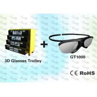 Buy cheap HD Active Shutter 3D Video Glasses with Trolley product