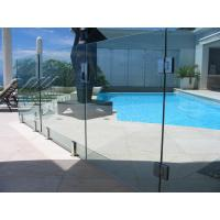Buy cheap Baby Guard Rail DIY Glass Pool Fencing With Tempered Glass Gate product