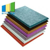 Buy cheap Eco - Friendly Cinema Colorful Polyester Acoustic Panels / Acoustic Boards For from wholesalers