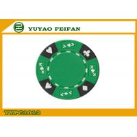 Buy cheap Professional Composite 13.5 Gram Numbered Poker Chips With Custom Printed product
